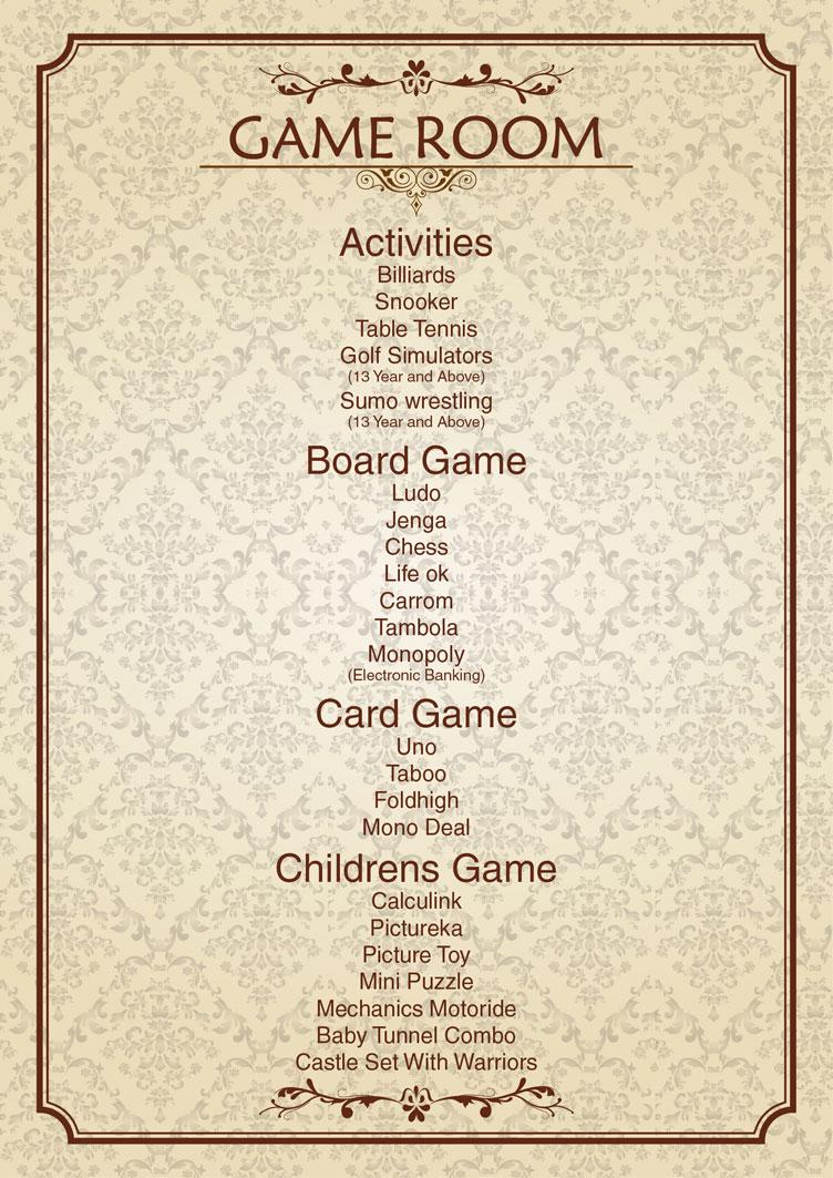 Activities-Games-in-the-Game-Room-Ramada-Neemrana